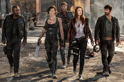 Milla Jovovich, Ali Larter, Fraser James, William Levy and Eoin Macken in Resident Evil: The Final Chapter (5)