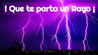 Rayos, Granizo, Viento
