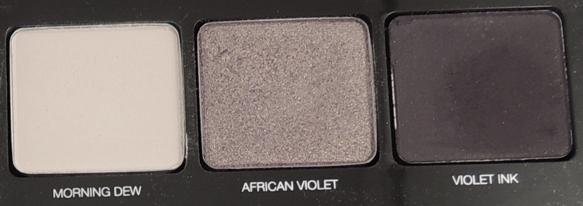 tutoriel maquillage violet yeux verts