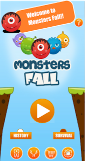 monsters%2Bfall%2B4 Monsters Fall by Loop Ends – Android App Featured Review Apps