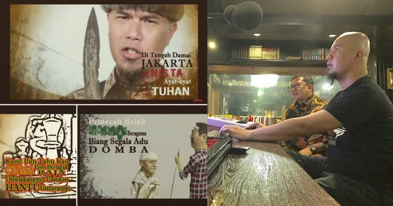 Fadli Zon dan Ahmad Dhani merilis lagu Sajak Sang Penista