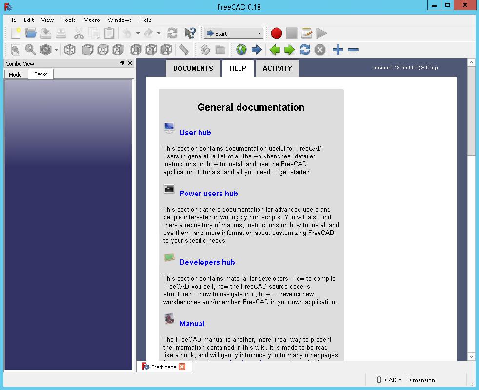 FreeCAD 0.18.4