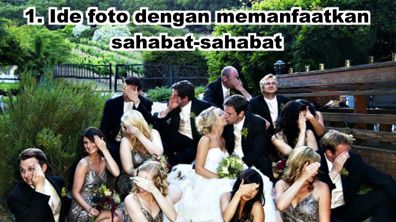 Ide Foto Pernikahan Unik Dan Lucu Yang Bisa Kamu Coba