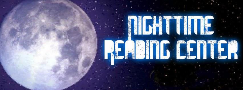 Nighttime Reading Center Book Tour Badge