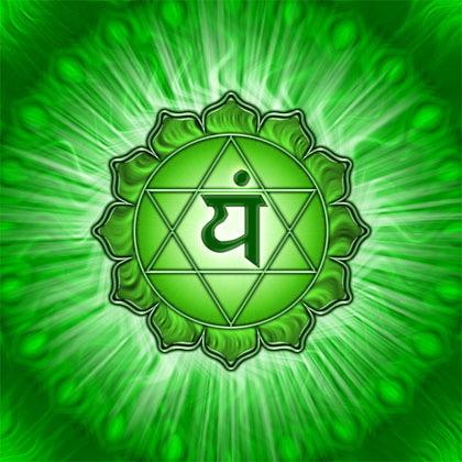 En el centro del corazón florece Anahata Chakra