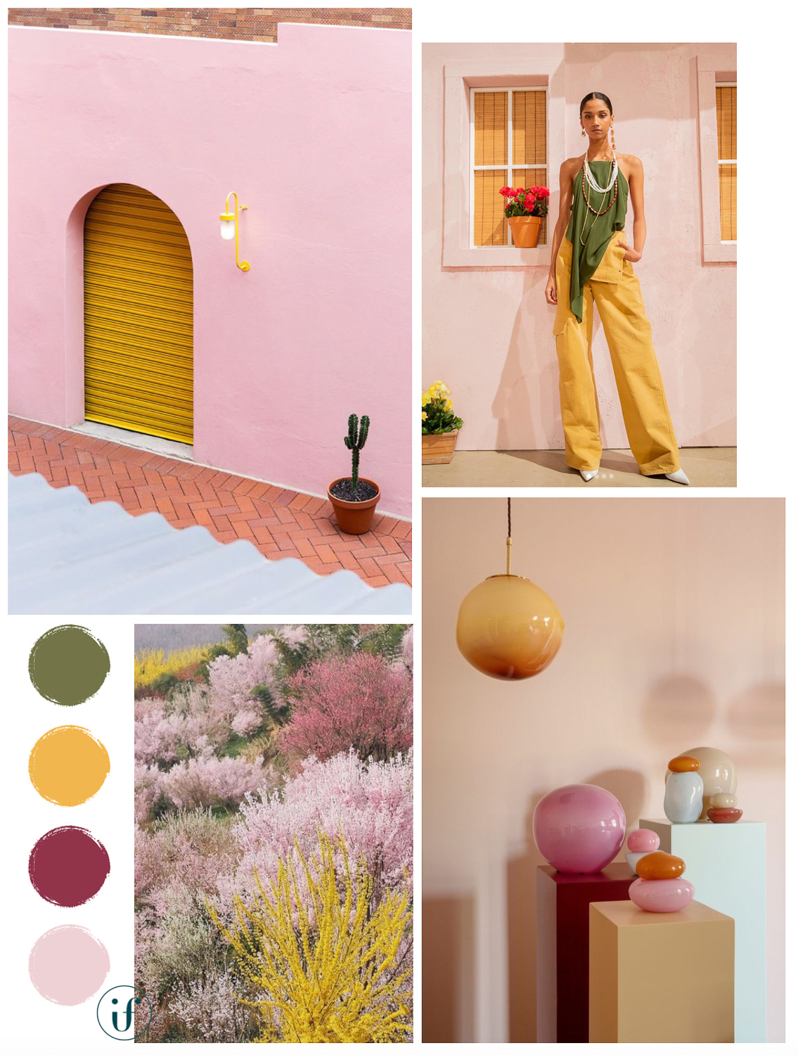 ilaria fatone - moodboard - bright and colourful
