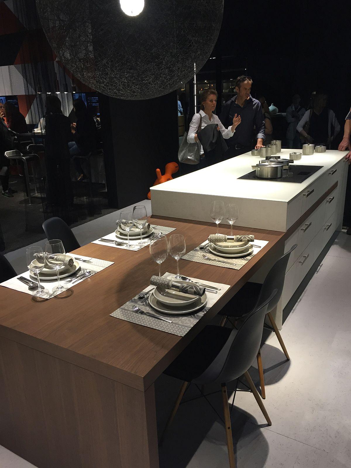 Cozinhas do Salão do Móvel de Milão 2016 Design Innova #915F3A 1200 1600