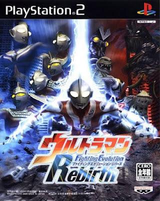 Ultraman Fighting Evolution Rebirth PS2 GAME ISO