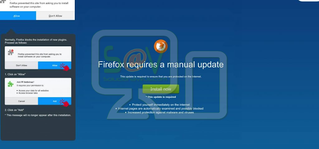 FF Update Checker (Extensión forzosa de Firefox)