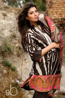 Sana Safinaz Lawn Collection 2013 for Women