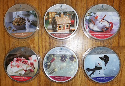 Goose Creek Candle Wax Melts - Winter/Holiday 2018