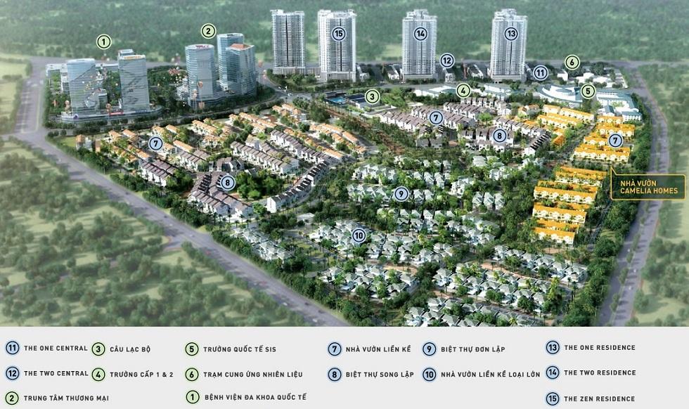 Quy hoạch khu Gamuda Gardens