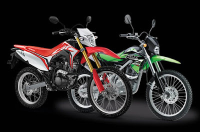 CRF150L vs KLX150 Series