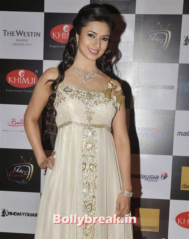 Divyanka Tripathi, Tv babes at Telly Calendar 2014 Launch