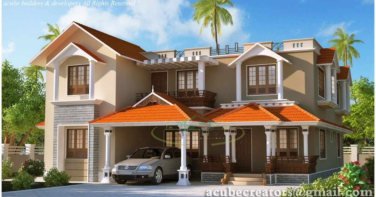 Kerala Style Dream Home Elevations 2980 Sq Ft Plan 135