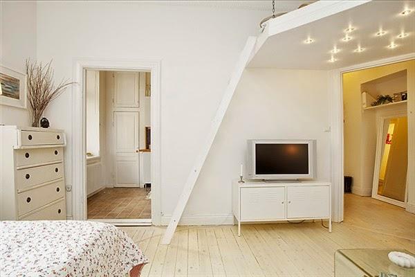 Foto da televisão do apartamento