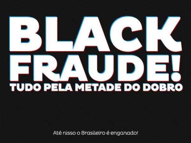 Defesa do consumidor alerta sobre fraude na 'Black Friday'