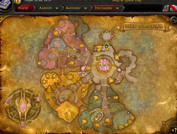 Inns Of Warcraft The Exodar Inn