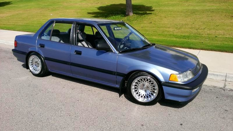 Ef Civic Sedan: EF Hondas: EF Civic 4 Door Sedan Daily Driver
