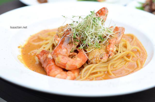 Croissant Crab Spaghetti