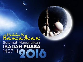 Gambar Ucapan Marhaban Ya Ramadhan 2016