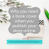 Writing Wednesdays: Why you need a book cover when you publish your story online