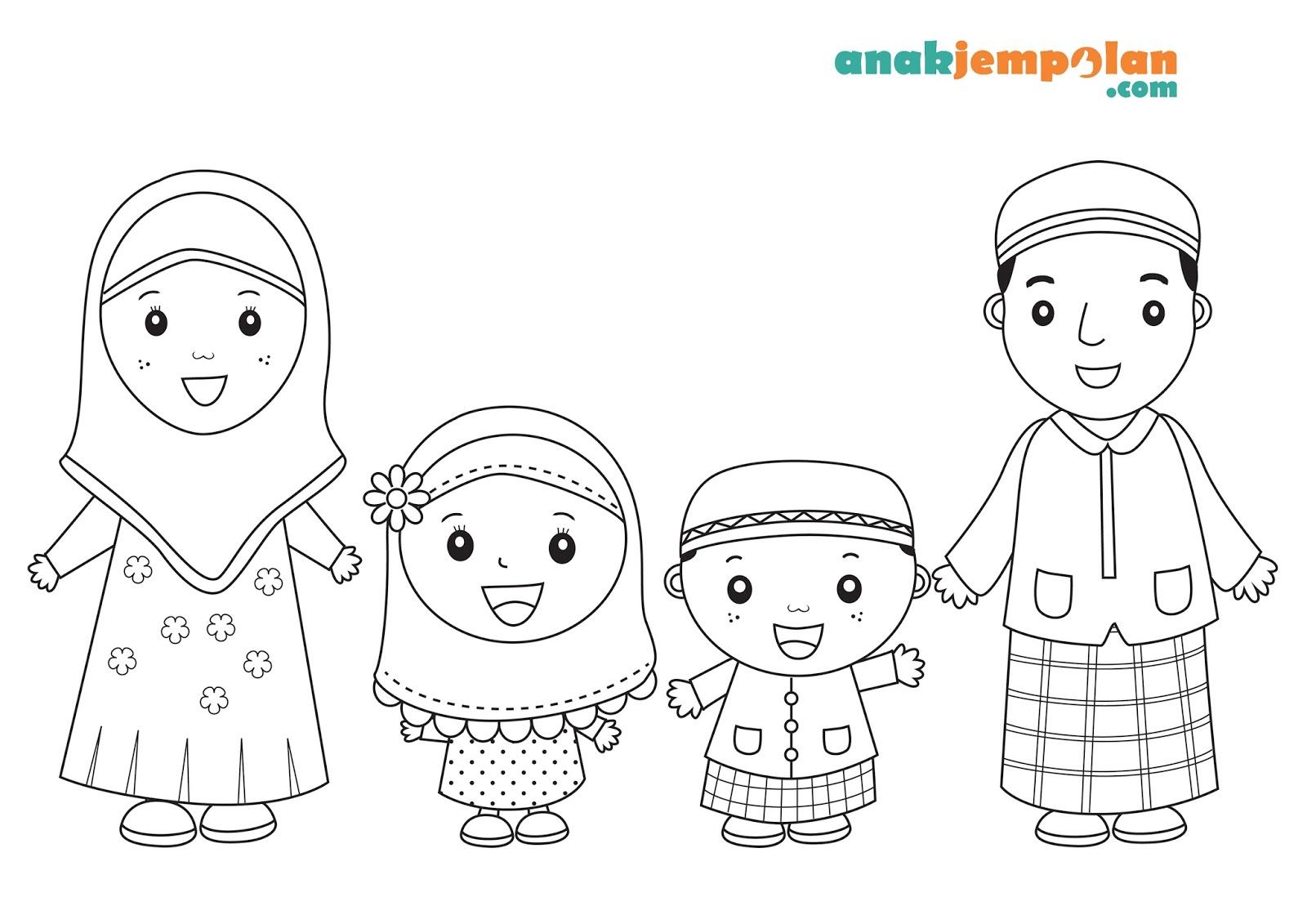 Gambar Kartun Anak Berbakti Kepada Orang Tua | Top Gambar