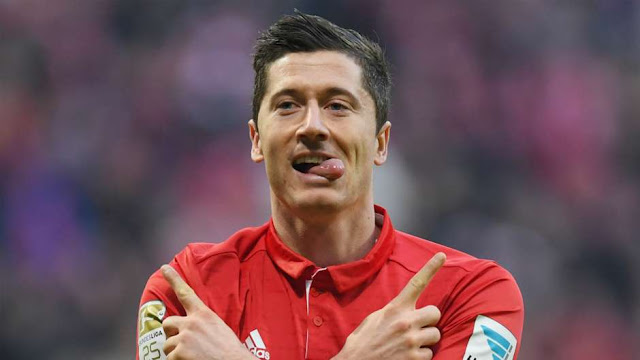 Players having Scored 5 Goals in one Match - Lewandowski