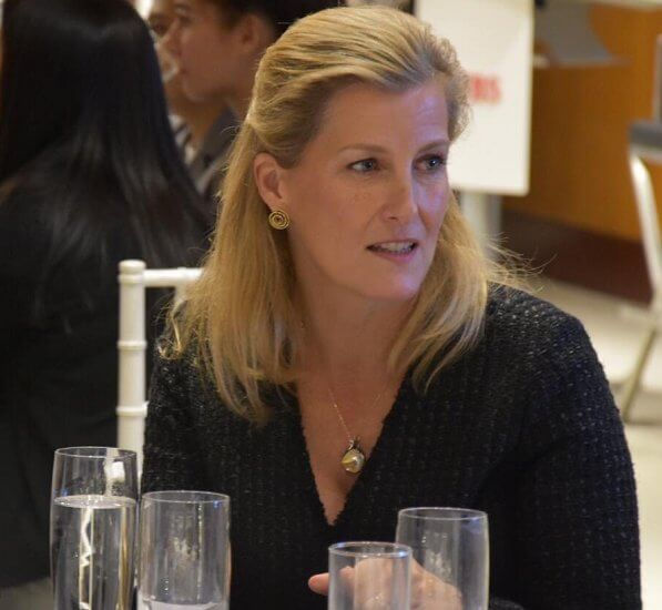 Tthe Countess of Wessex is visiting New York and Toronto as Global Ambassador of 100 Women in Finance's Next Generation Initiative