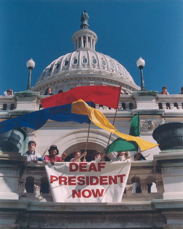An analysis of deaf president now protest