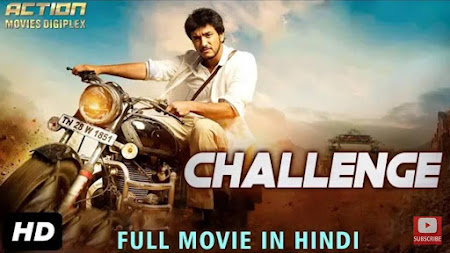Poster Of Challenge In Hindi Dubbed 300MB Compressed Small Size Pc Movie Free Download Only At worldfree4u.com