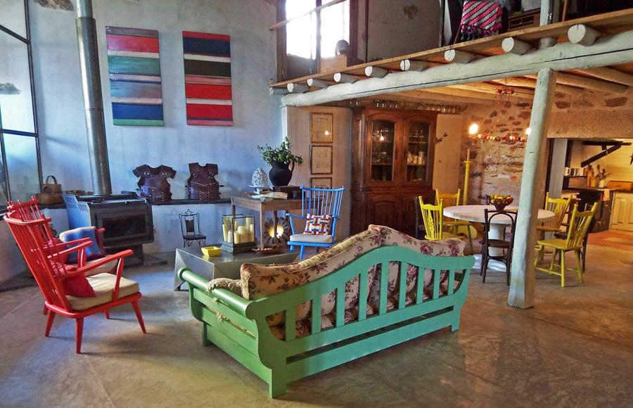 Estudio Nap Blog Casa De Campo En Galicia Por Oito Interiores - Interiores-de-casas-de-campo