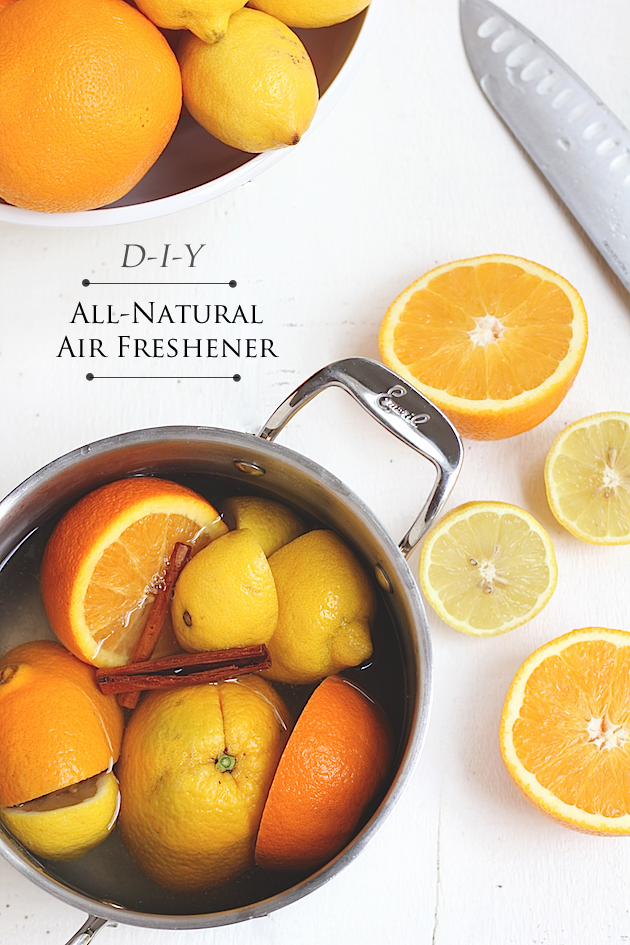 How To Make An All-Natural Homemade Air Freshener | Savor Home