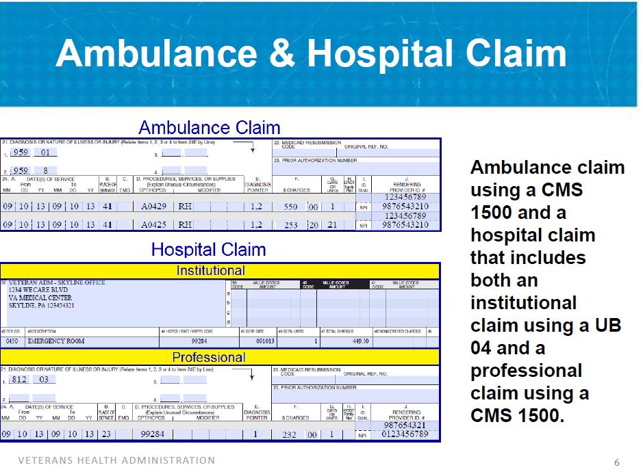 Ambulance Billing Guide Codes And Services Ambulance
