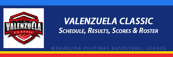 MPBL: Valenzuela Classic Schedule, Results, Scores, Roster