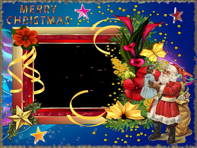Im genes y gifs animados marcos para fotos de navidad for Hacer tarjetas de navidad con fotos
