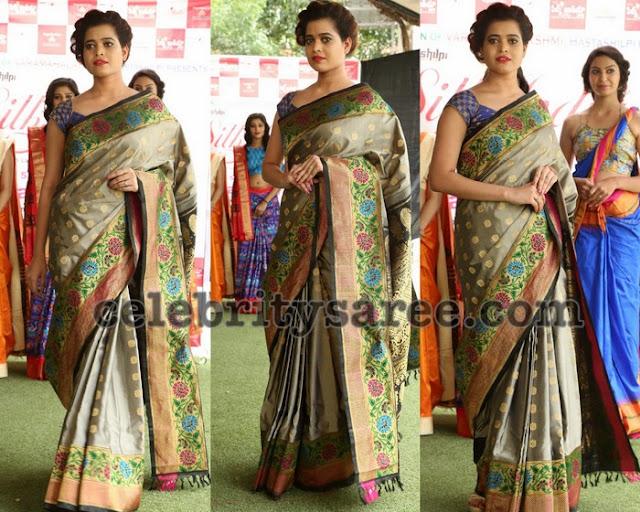 Deepali Raut Bridal Saree