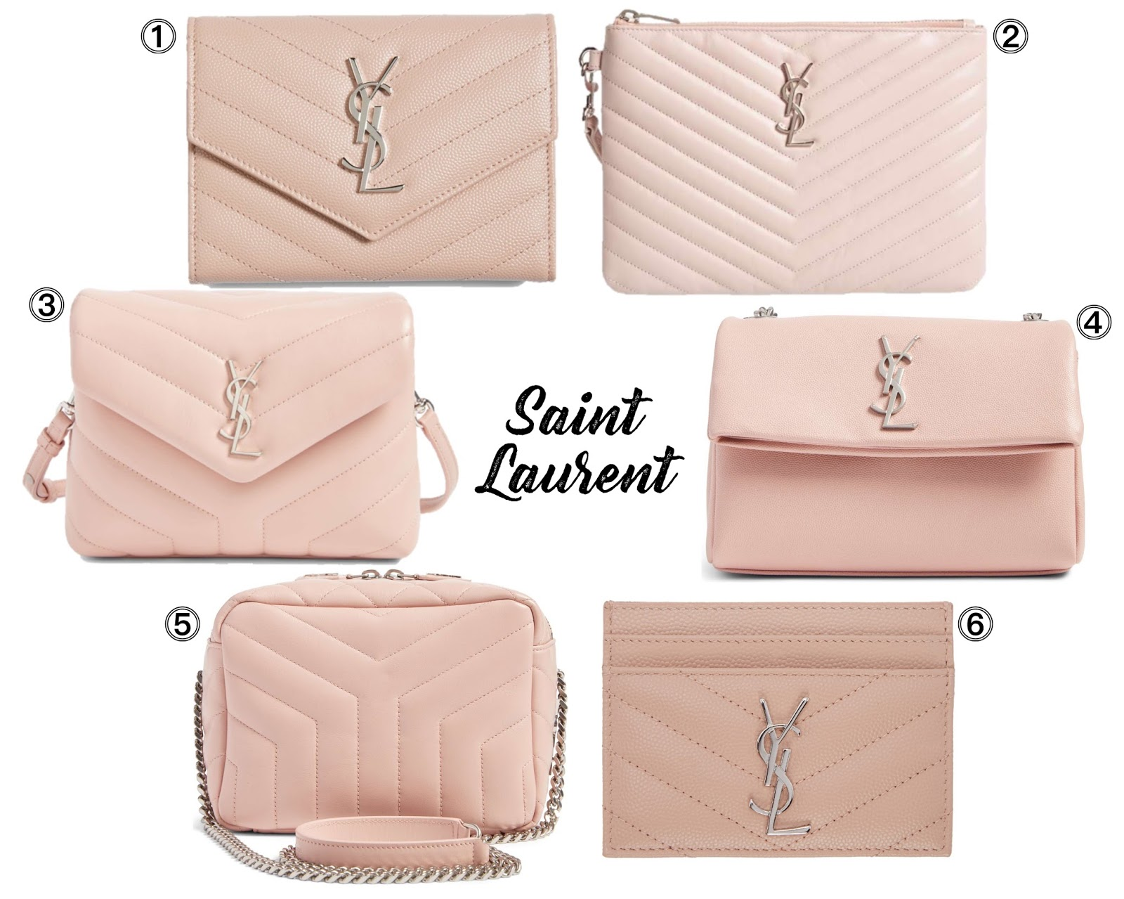 My Favorite Pink Bags From Gucci Saint Laurent