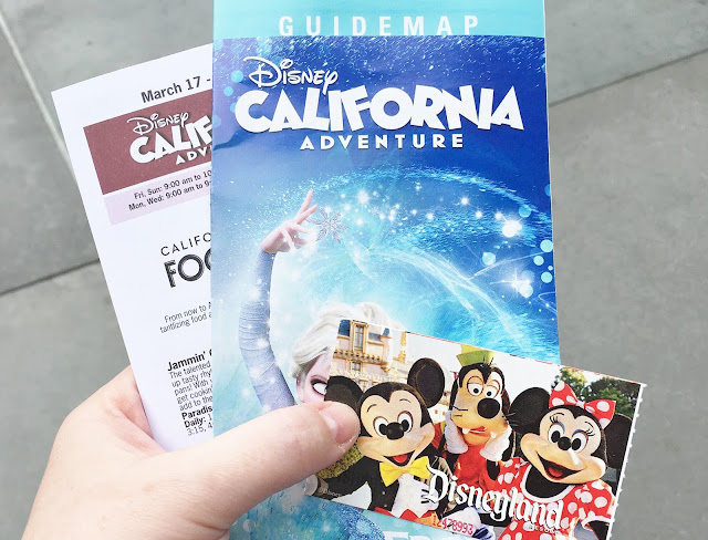 Disney California Adventure park map