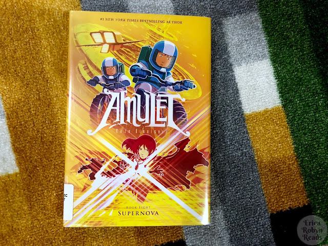 Graphic Novel Review of Supernova (Amulet #8) by Kazu Kibuishi