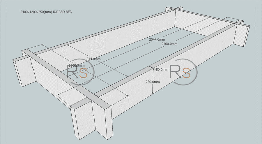 Top Railway Sleepers: Easy, Slot Together Raised Bed Kits from