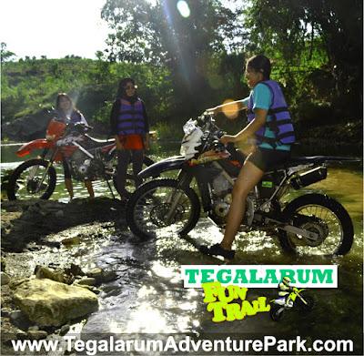 gambar wisata trail di Wonosari