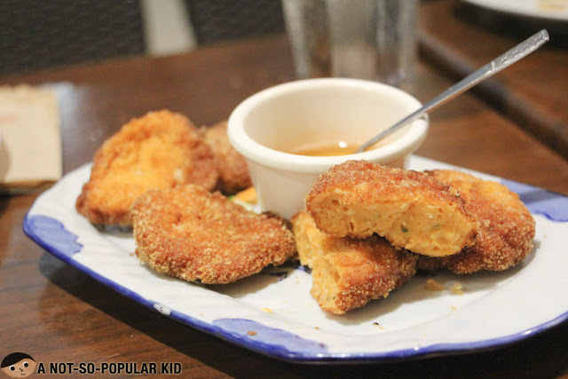 Fried Shrimp Cake (Thad mun goong)