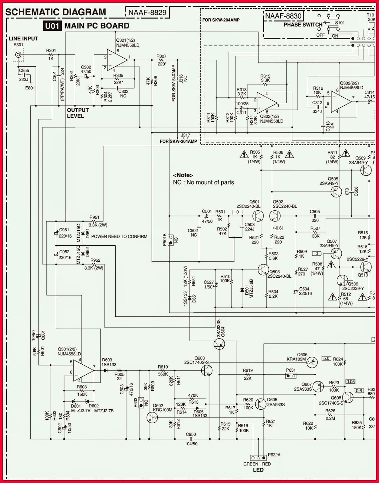 ELECTRONIC EQUIPMENT REPAIR CENTRE : ONKYO SKW-204(B)/(S