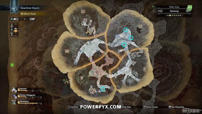魔物獵人 世界 Iceborne 礦脈位置及掉落礦石一覽 | 娛樂計程車