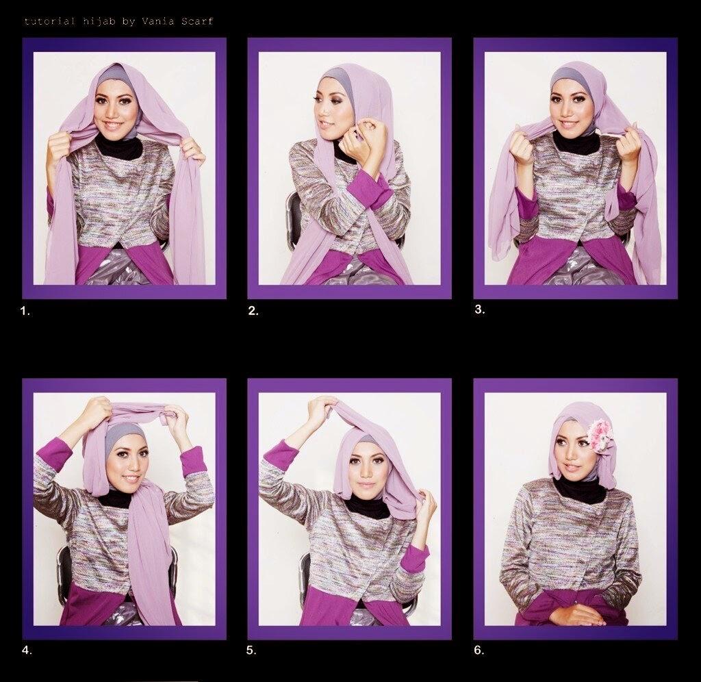 29 Ide Tutorial Hijab Nikahan Gratis Tutorial Hijab Terbaru