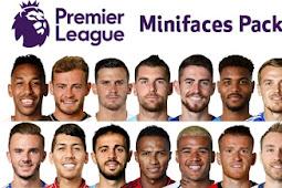 New EPL Minifaces Pack - PES 2019 & PES 2018