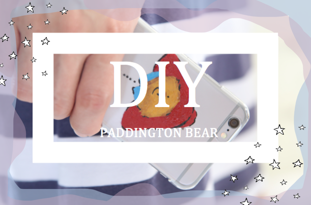 DIY Paddington Bear iPhone Case