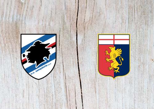 Sampdoria vs Genoa - Highlights 14 April 2019