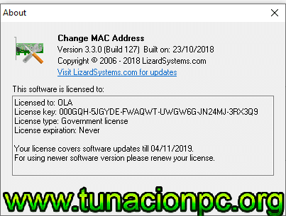 Descargar Change MAC Address Full con licencia